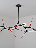 cheap -Country Globe Modern/Contemporary Chandelier For Living Room Bedroom Study Room/Office AC 110-120 AC 220-240V Bulb Included