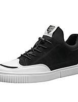 Недорогие -Для мужчин обувь Искусственное волокно Сетка Весна Осень Светодиодные подошвы Кеды Назначение Повседневные Черный Серый Хаки
