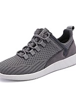 cheap -Men's Shoes Knit Spring Fall Light Soles Sneakers For Casual Red Gray Black