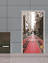 Architecture Botanique Paysage Stickers muraux Caisson de Protection Autocollants avion Autocollants muraux 3D Autocollants muraux