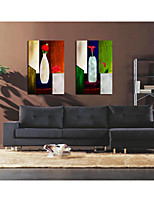 Stretched Canvas Print Comtemporary,One-piece Suit Canvas Square Oil Painting Wall Decor For Home Decoration