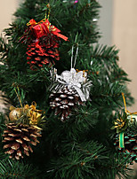 4pcs Noël Décorations de NoëlForDécorations de vacances 16*12*5
