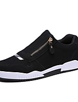 Men's Shoes PU Spring Fall Comfort Loafers & Slip-Ons For Casual Blue Gray Black