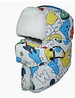 economico -Passamontagna da neve Sci Caps Skull Bambini Unisex Caldo A prova di sporco Tavola da snowboard Cotone Lettere & Numeri Corsa