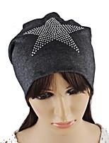 Для женщин На каждый день Широкополая шляпа,Осень Зима Вязанная Звезды Стильные Рисунок