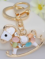cheap -Animals Keychain Favors Chrome Rhinestones Keychain-Piece/Set