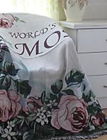 Super Soft Letter & Number Polyester Blankets
