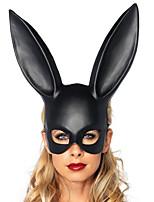 Недорогие -Маски на Хэллоуин Товары для отпуска Маскарадные маски Животная маска Мультяшная маска Игрушки Rabbit Новинки Животные 3D Животный принт