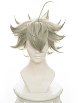 Cosplay Wigs Black Clover Asta Anime Cosplay Wigs 35 CM Heat Resistant Fiber Male