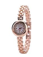 Mulheres Relógio Elegante Bracele Relógio Relógio de Pulso Simulado Diamante Relógio Chinês Quartzo imitação de diamante Liga de Metal