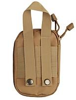 preiswerte -0.5 L Hüfttaschen Jagd Wandern Outdoor Übungen Mehrlagig tragbar Nylon