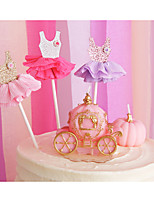cheap -Cake Topper Holiday Romance Fashion Wedding Birthday Cute Style Paper Party Evening Daily Wear with 1 OPP