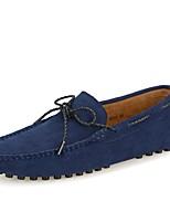 Homme Chaussures Vrai cuir Printemps Eté Moccasin Mocassins et Chaussons+D6148 pour Décontracté Gris Bleu marine Bourgogne