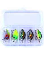 5 pcs Crank g/Ounce mm inch,Plastics Fly Fishing Lure Fishing
