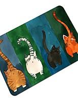 cheap -Creative Cartoon Cat Pattern Antiskid Floor Mat