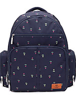 Women Bags All Season Oxford Cloth Backpack Zipper for Casual Blue Brown