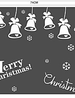 cheap -Christmas Music Words & Quotes Wall Stickers Plane Wall Stickers 3D Wall Stickers Decorative Wall Stickers Wedding Stickers,Paper Vinyl