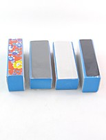 4Pcs Sponge Polishing File Pattern Polishing Block All buffer Nail Art supplies Nail Tools