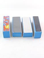cheap -4Pcs Sponge Polishing File Pattern Polishing Block All buffer Nail Art supplies Nail Tools