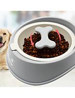 Dog Feeders Pet Bowls & Feeding Durable Random Color Gray Black