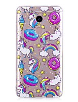 preiswerte -Hülle Für Xiaomi Redmi Note 4X / Redmi Note 4 Muster Rückseite Einhorn / Cartoon Design Weich TPU für Xiaomi Redmi Note 4X / Xiaomi Redmi Note 4 / Xiaomi Redmi Note 3 / Xiaomi Redmi 4A