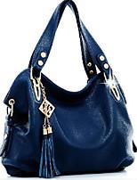 cheap -Women Bags PU Tote Zipper for Casual All Season Blue Black Brown Khaki