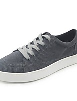 cheap -Men's Shoes Fleece Spring Fall Light Soles Sneakers For Casual Blue Gray