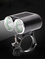 Front Bike Light LED XM-L2 T6 Cycling Water Resistant / Water Proof 360°Rotation USB 2000 Lumens DC USB White Camping/Hiking/Caving