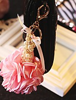 cheap -Keychains Classic Theme Floral Theme Keychain Favors For Wedding
