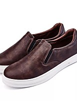 Men's Shoes Fall Light Soles Loafers & Slip-Ons for Casual Black Gray Brown