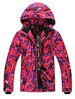 Men's Ski Jacket Warm Waterproof Windproof Breathability Lightweight Skiing Ski/Snowboarding Fiber