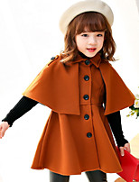 Girls' Solid Jacket & Coat