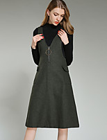Women's Going out Daily Boho Sophisticated Fall Winter Sweater Dress Suits
