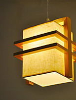 Retro/Vintage Modern/Contemporary Pendant Light For Bedroom Dining Room AC 220-240V Bulb Not Included