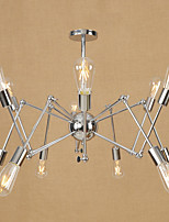 Retro/Vintage Country Traditional/Classic Modern/Contemporary Chandelier For Dining Room Shops/Cafes AC 110-120 AC 220-240V Bulb Not