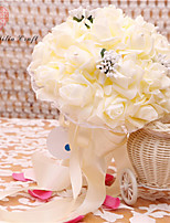 "cheap -Wedding Flowers Bouquets Wedding Polyester 2.95""(Approx.7.5cm)"