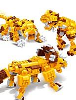 Building Blocks Toys Triceratops Dinosaur Tiger Animals 3 in 1 Education Kids 328 Pieces