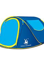 preiswerte -2 Personen Zelt Kuppelzelt mit Netz Strandzelt Vordach Einzeln Camping Zelt Einzimmer Automatisches Zelt Einfach zu installieren für