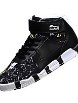 Men's Shoes PU Winter Comfort Sneakers For Casual Black/Yellow Black/Blue Black/Red