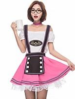 abordables -Traje de Camarera Oktoberfest Disfrace de Cosplay Mujer Halloween Carnaval Oktoberfest Festival / Celebración Disfraces de Halloween