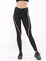 Women's Running Tights Yoga Fitness Tights Yoga Pilates Exercise & Fitness Elastane Polyster Slim S M L