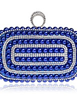 Women Bags Polyester Evening Bag Buttons for Event/Party Casual All Seasons Blue Gold White Black Red