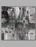 Hand-Painted Abstract Square,Comtemporary Modern Canvas Oil Painting For Home Decoration One Panel