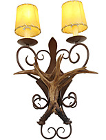 Ambient Light Wall Sconces 40W AC220V E14 Rustic/Lodge Traditional/Classic For