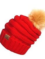 Unisex Autunno Inverno Maglia Fil di lana Vintage Romantico Da serata Da ufficio Casual Toque floscio Berretto,Solidi Lavorato a maglia