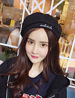 Women's Vicose Beret Hat,Cute Casual Solid All Seasons Pure Color