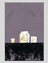 Hand-Painted Still Life Vertical Panoramic,Modern One Panel Canvas Oil Painting For Home Decoration