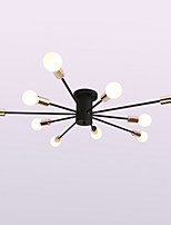 Country Traditional/Classic Chandelier For Living Room Dining Room Study Room/Office AC 110-120 AC 220-240V Bulb Not Included