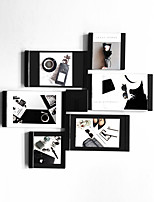 The world's first magical picture frame.Puzzle Black.Unique Design Wall Desktop Dcor Collage Artworks
