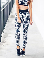 Women's Medium Print Legging,Floral